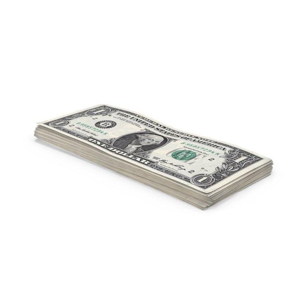 1 Dollar Bill Stack