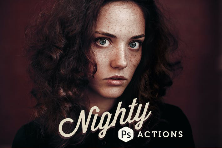 Thumbnail for Nighty Photoshop Actions