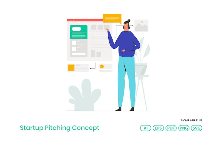 Thumbnail for Startup Pitching Concept