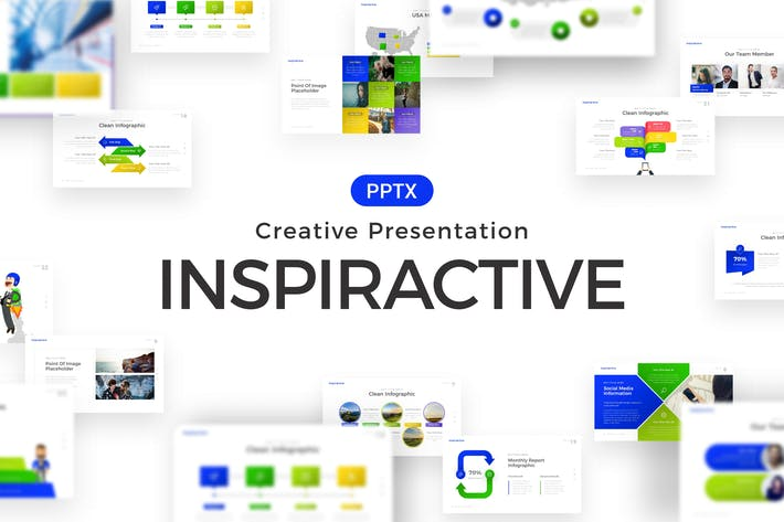 Thumbnail for Inspiractive Powerpoint Template