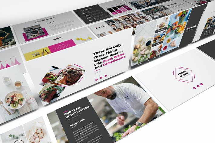 Download 3100 powerpoint templates envato elements thumbnail for foodie duddie powerpoint template toneelgroepblik Choice Image