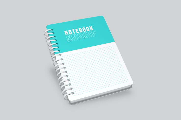Thumbnail for Ringed Notepad Mockup Pack - Vol 02