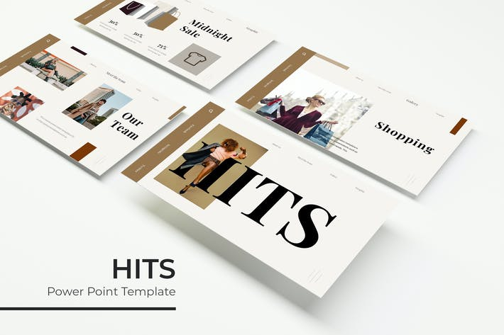 Thumbnail for Hits - Powerpoint Template