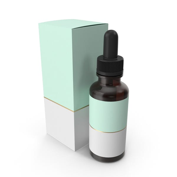 Thumbnail for Mint Dropper Glass Bottle With Box