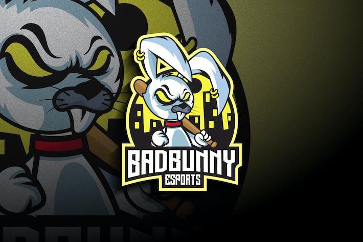 Thumbnail for Bad Bunny Esports - Mascot & Esport Logo
