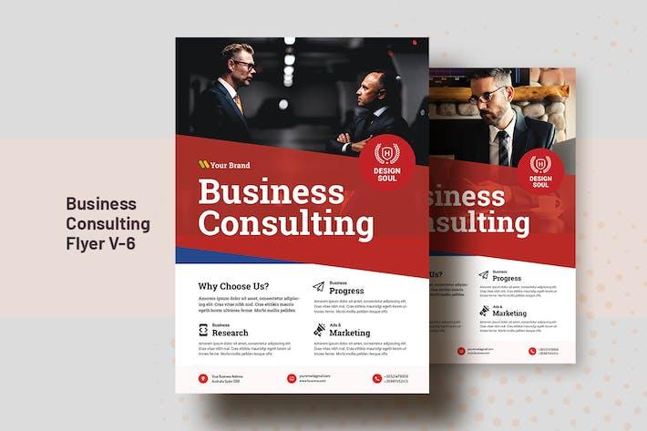 Thumbnail for Business Consultation Flyer Template V-6