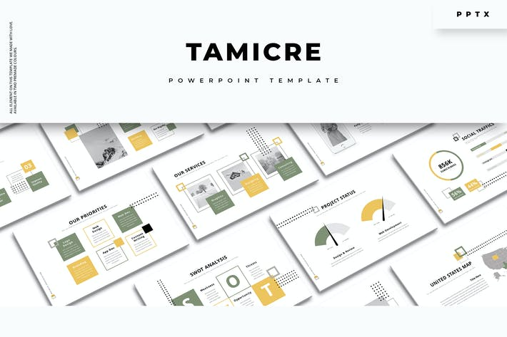 Thumbnail for Tamicre - Creative PowerPoint Template