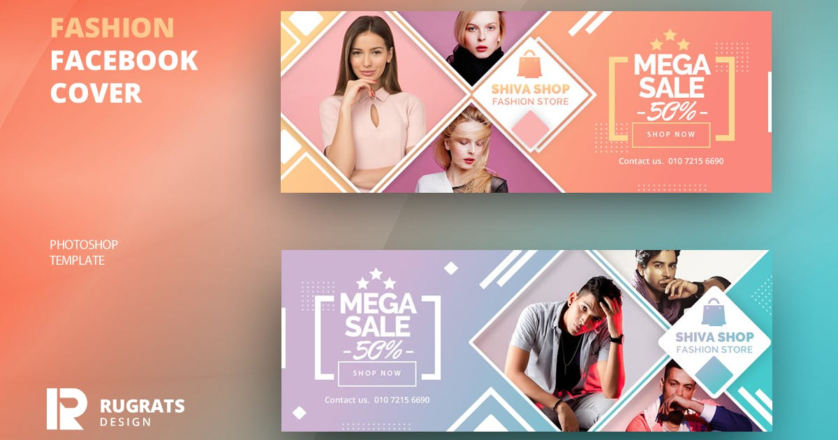 Download Fashion R2 Facebook Cover Template by youwes