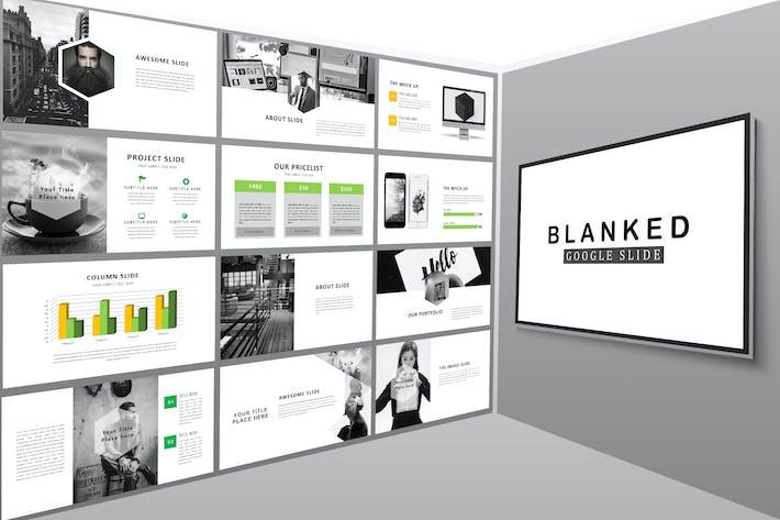 Thumbnail for Blanked Google Slides Presentation
