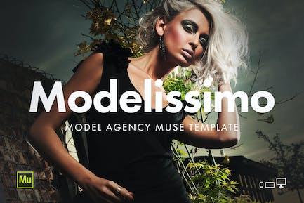 Modelissimo - Plantilla de Página web Agencia de modelos