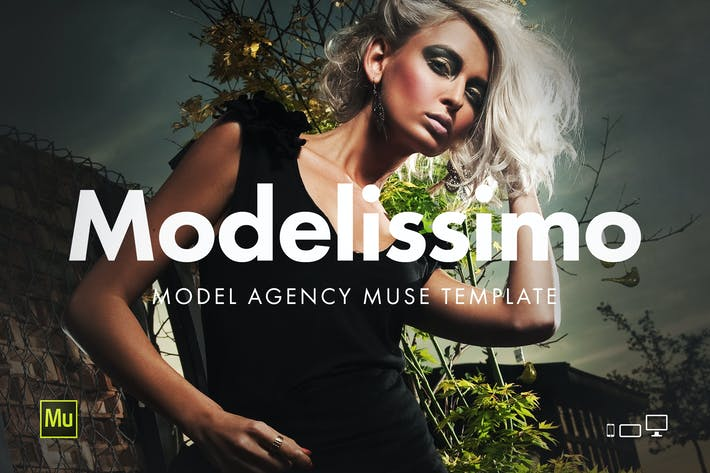 Thumbnail for Modelissimo - Model Agency Website Template