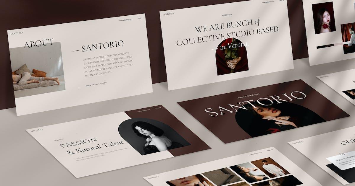 Download Santorio Keynote by visuelcolonie