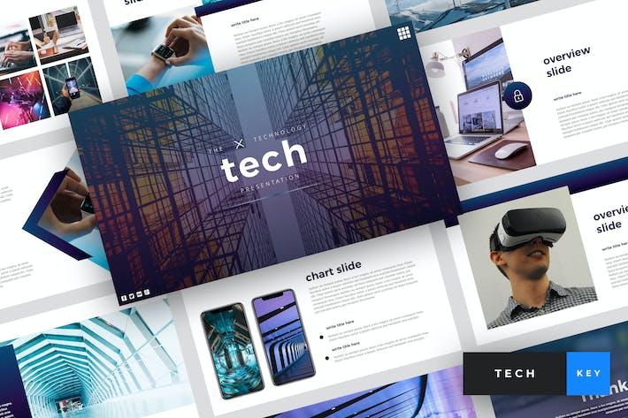 Thumbnail for Tech - Technology Keynote Template