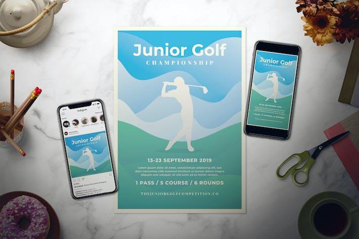 Thumbnail for Golf Championship Flyer Set