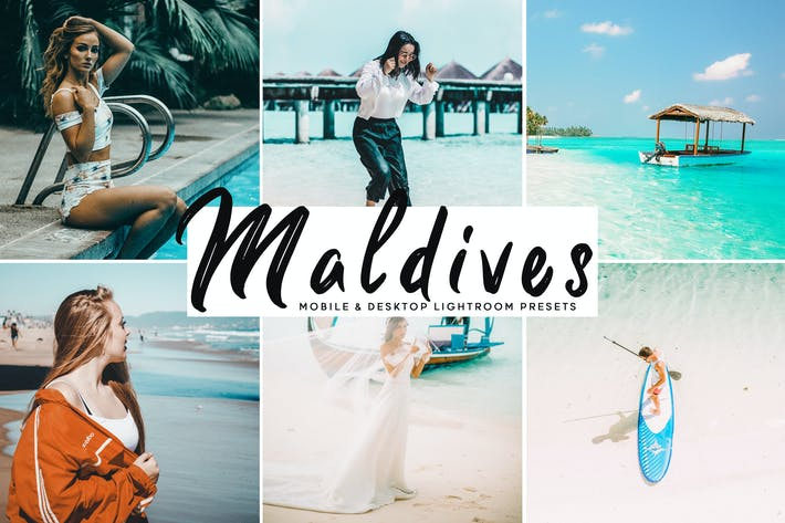 Thumbnail for Maldives Mobile & Desktop Lightroom Presets
