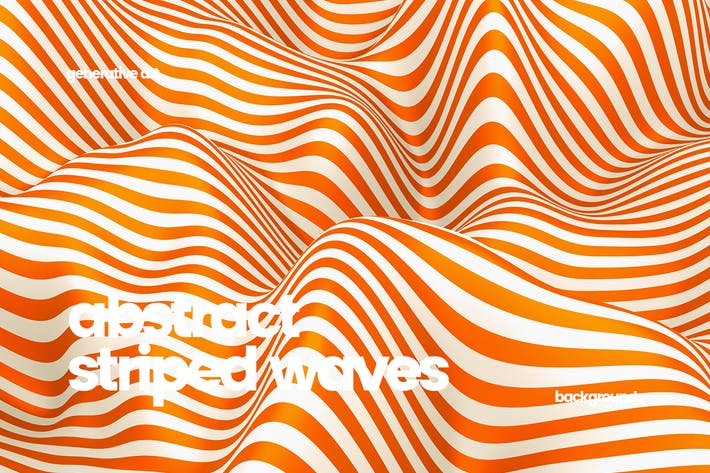 Thumbnail for Striped Waves Backgrounds