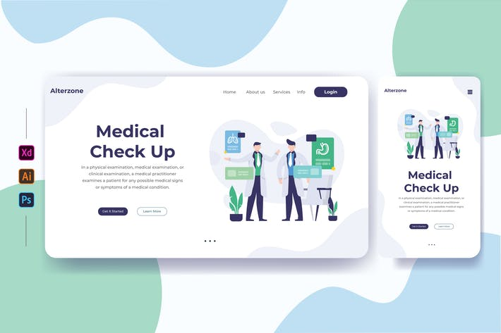 Thumbnail for Medical Check Up 01 - Landing Page