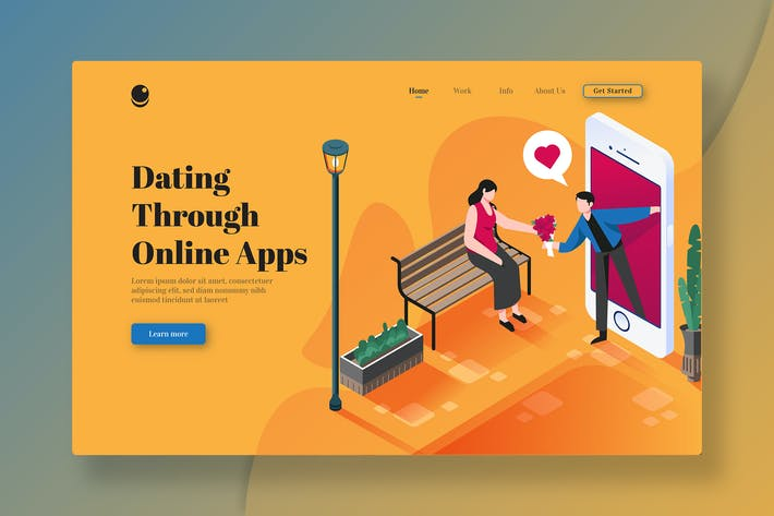 Thumbnail for Dating Through Online Applications - Landing Page