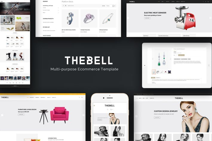 Thumbnail for Thebell - Multipurpose Responsive Prestashop Thème
