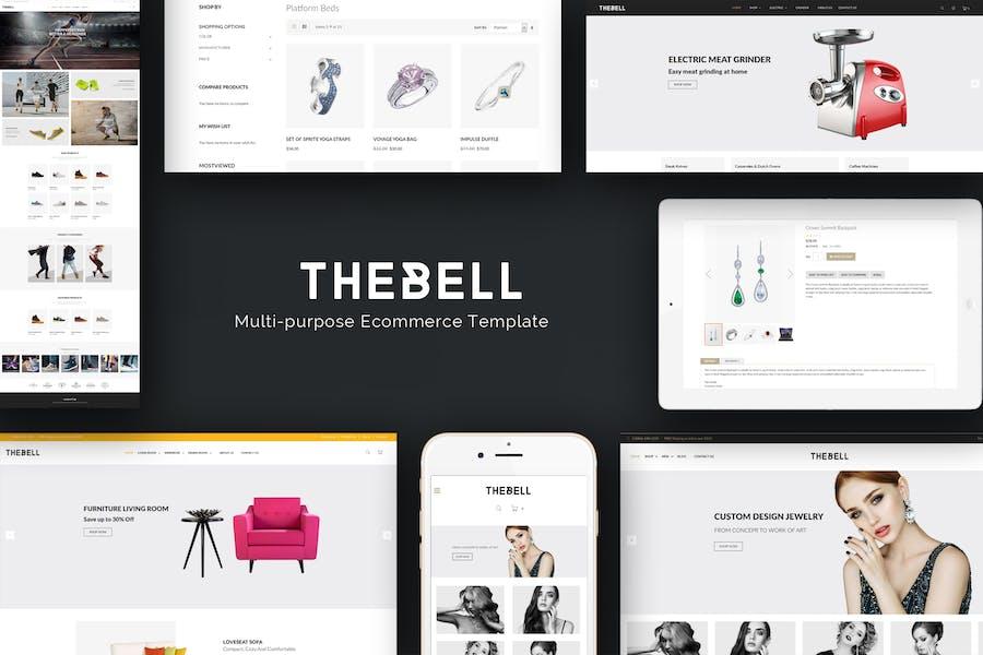 Thebell - Multipurpose Responsive Prestashop Theme