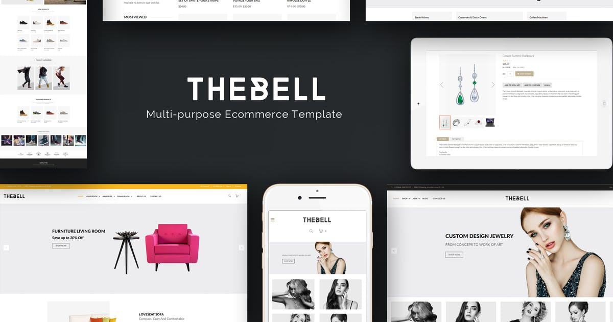 Download Thebell - Multipurpose Responsive Prestashop Theme by Plaza-Themes