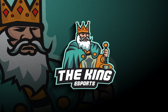 Thumbnail for King Esports - Mascot & Esport Logo