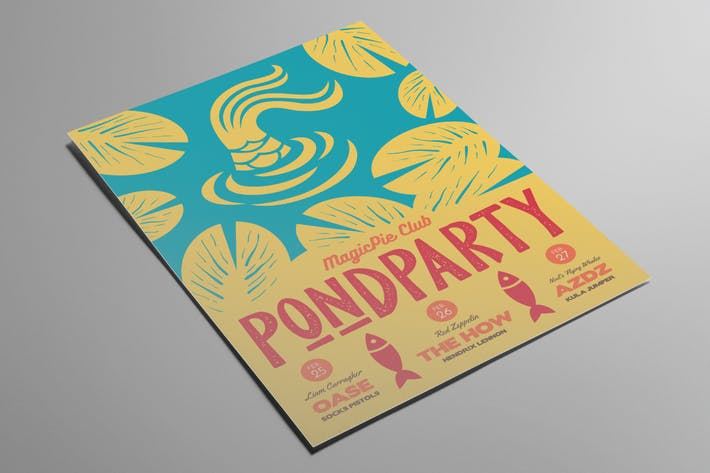 Thumbnail for Pond Party dépliant