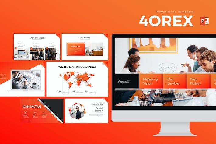 Thumbnail for Презентация 4OREX PowerPoint