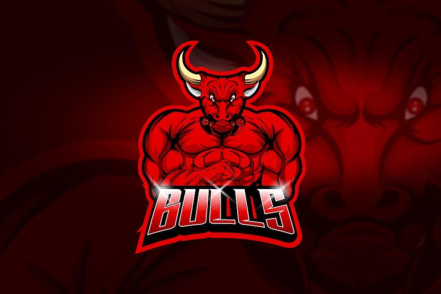 Bulls - Mascot & Esport Logo