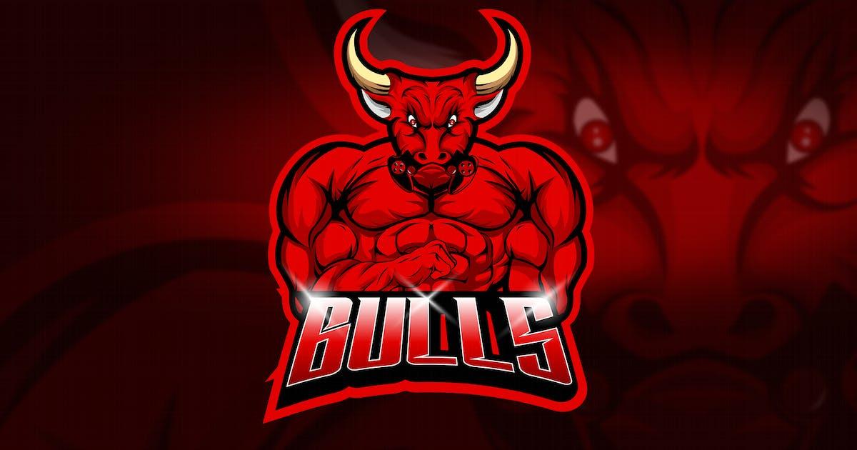 Download Bulls - Mascot & Esport Logo by aqrstudio