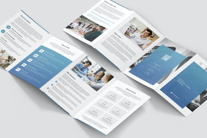 Thumbnail for Brochure – Creative Marketing 4-Fold A5