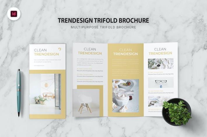 Thumbnail for Trendesign Trifold Brochure