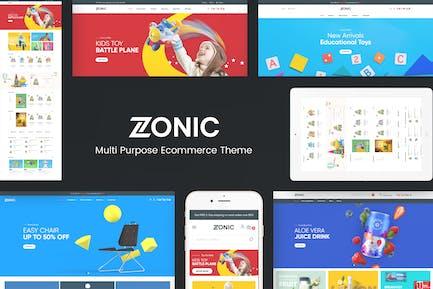 Zonic - Kid Store Responsive Prestashop Theme