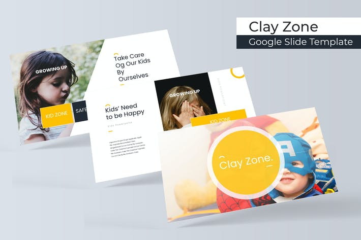 Thumbnail for Clayzone  - Google Slide Template