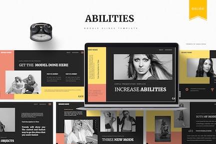 Increase Abilities   Google Slides Template