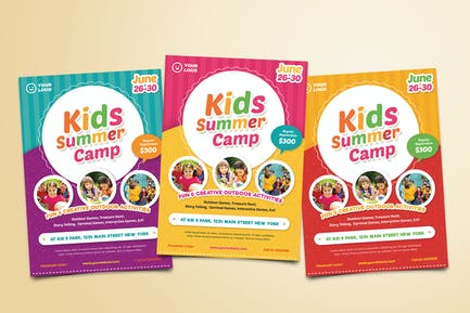 Kids Summer Camp Flyer 02