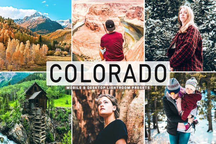 Thumbnail for Colorado Mobile & Desktop Lightroom Presets