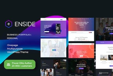 Enside - Multipurpose Onepage WordPress theme