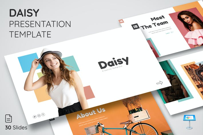 Thumbnail for Daisy - Keynote Presentation Template