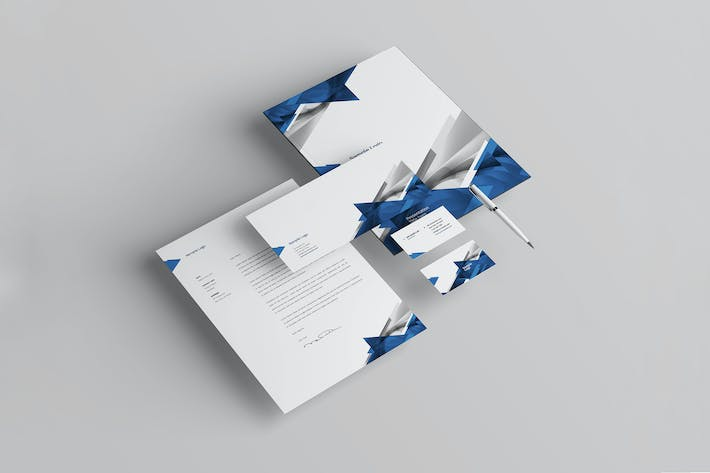 Cover Image For Business Stationery Pack