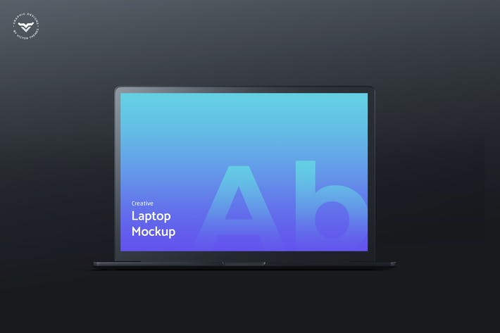 Thumbnail for Dark Laptop Mockups
