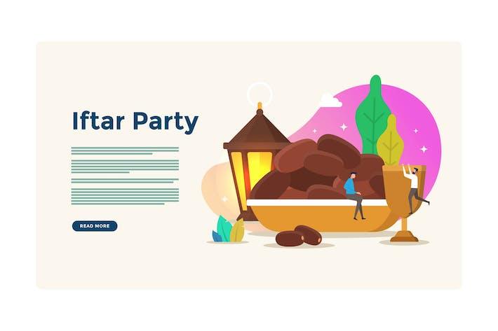 Iftar Party Break Fasten