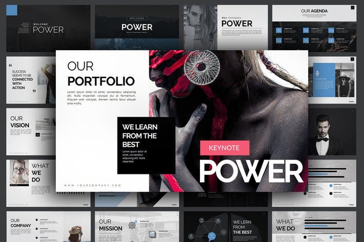 Thumbnail for Power Keynote Templates
