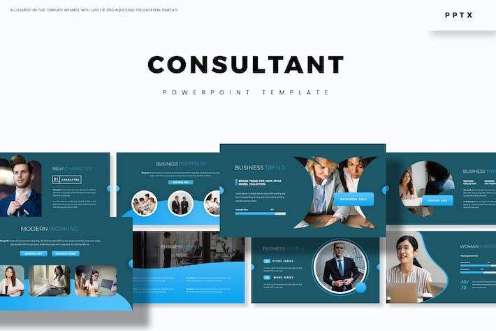 Thumbnail for Consultant - Powerpoint Template