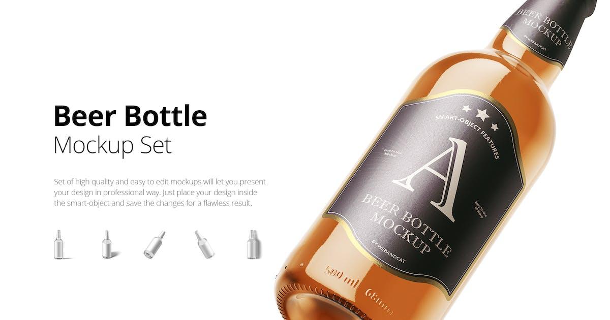 Download Beer Bottle Mock-up by webandcat