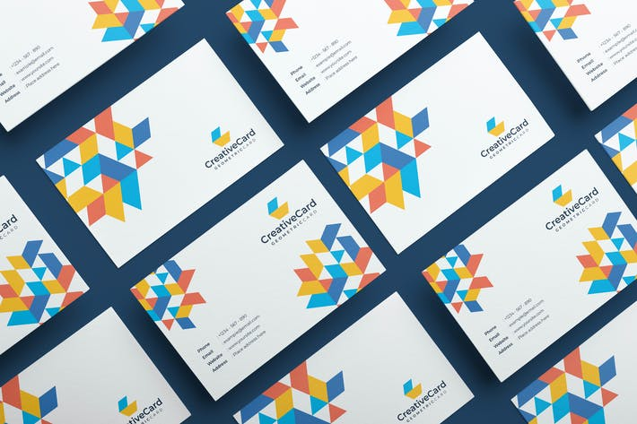 Mytemp - Geometric Business Card