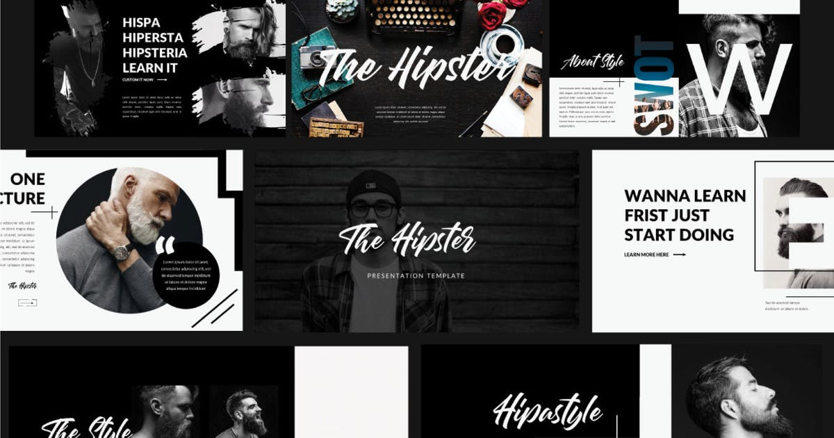 Download The Hipster Presentation by templatehere