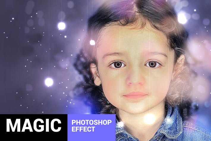Thumbnail for Magicum - Studio Lights Photoshop Action
