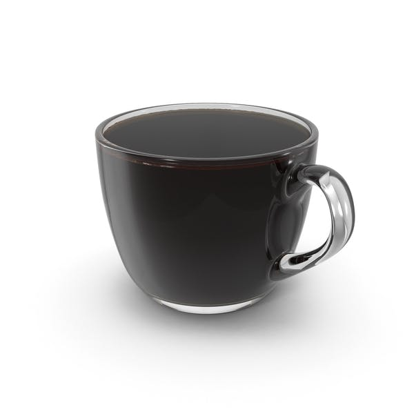 Coffee Cup Small Glass