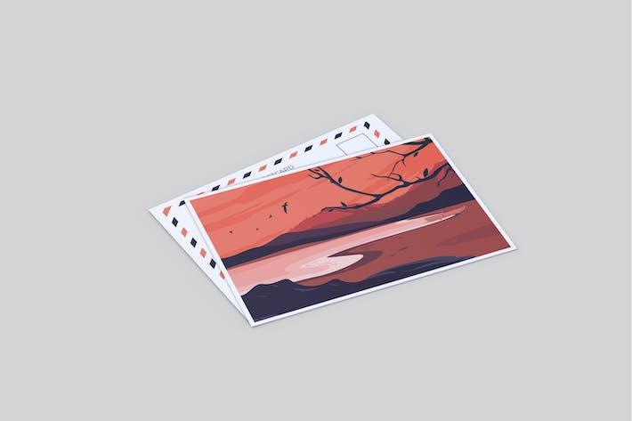 Thumbnail for Postcard Mockup V2